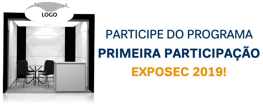 Primeira Participação - Exposec 2019