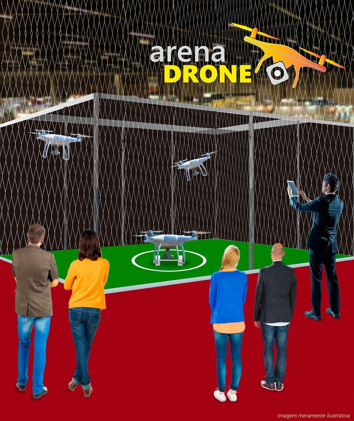 Arena Drone Exposec - Venha demonstrar o drone da sua empresa durante a Exposec 2017!