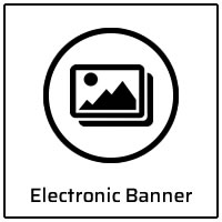Electronic Banner